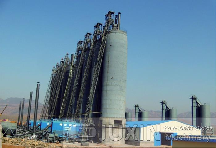 Kenya 1000t/d active lime production plant